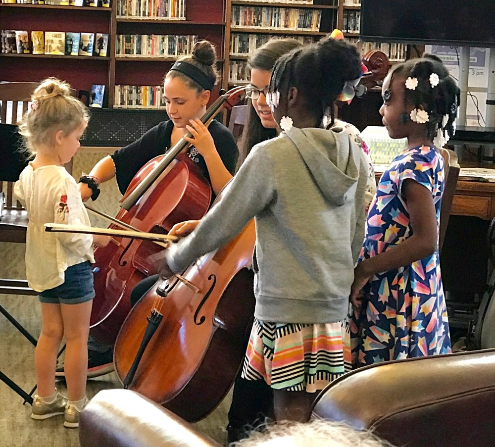 Pop-Up Concerts in Carnegie Libraries - Allegheny (North Side) Library: Sun., Sept. 30 - 1:00pmSouth Side Library: Sun., Sept. 30 - 2:00pm