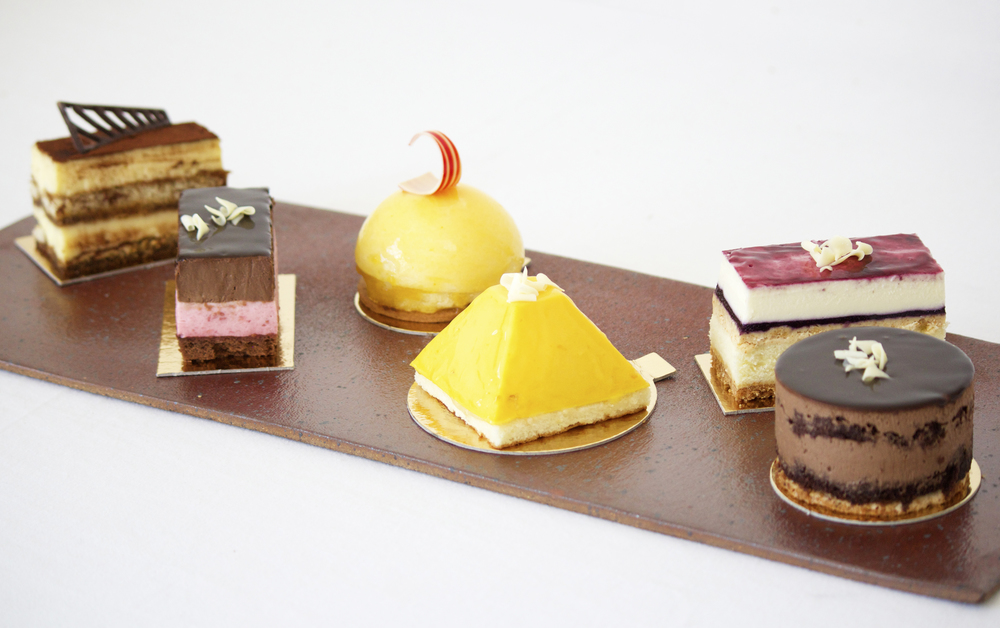 Pastry selection