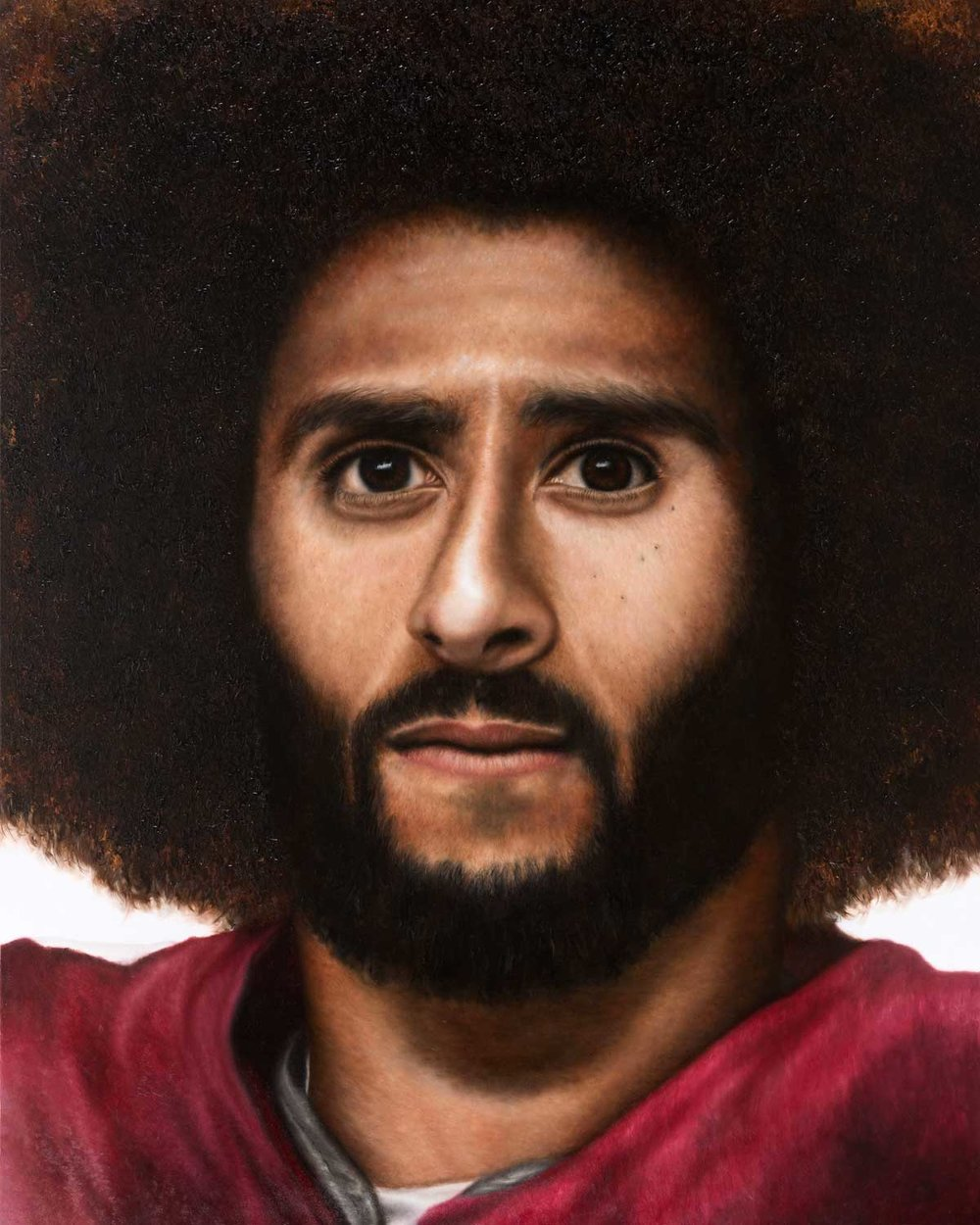 O'Neil Scott, Kaep, 2018 Oil On Canvas 48X60""