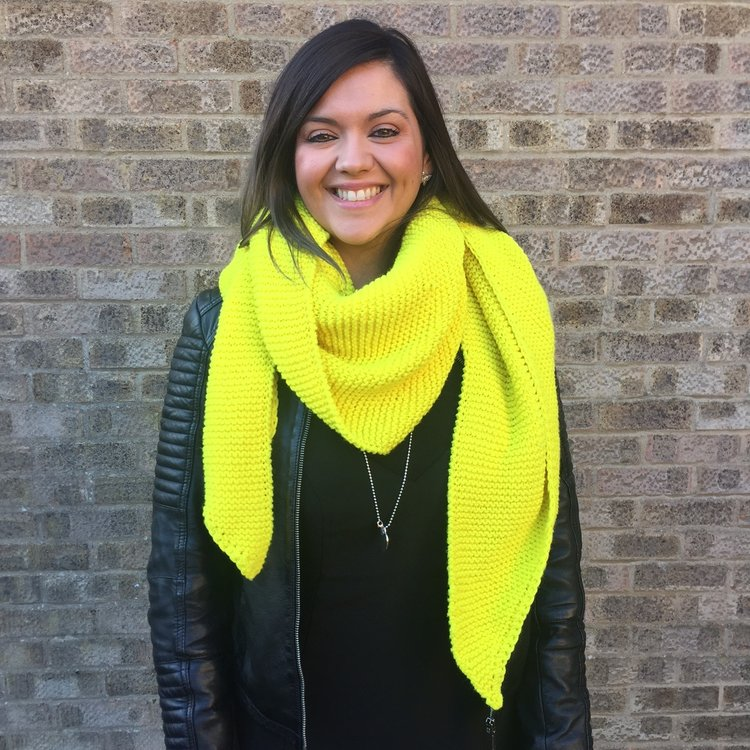 Free Pattern Neon Waterfall Scarf Crochet Handwarmers I Make Knots