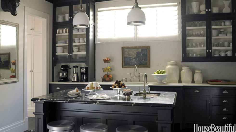 Nice Paint Ideas For Your Kitchen Cabinets