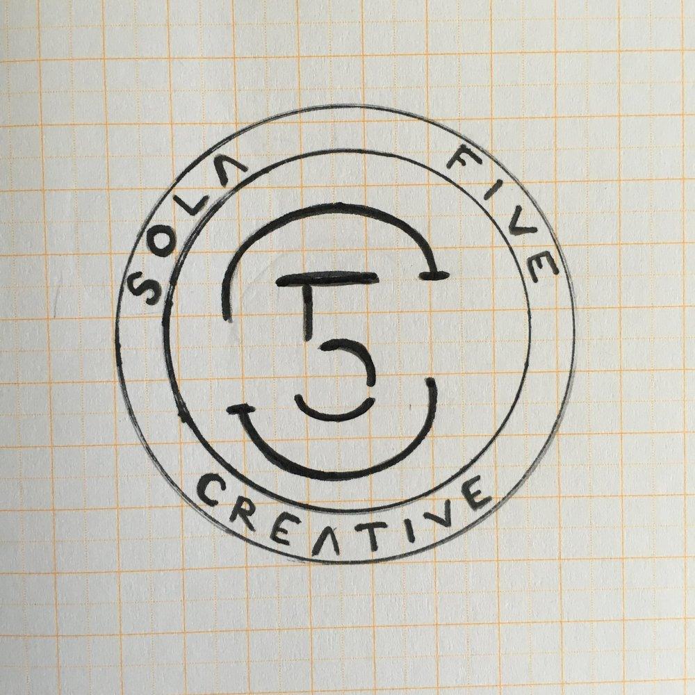 Sola 5 Creative Rough Sketch