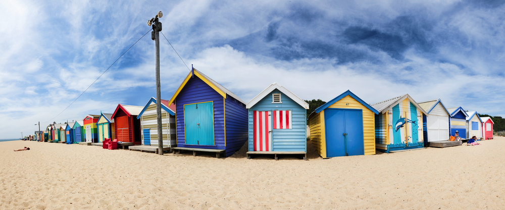 BRIGHTON BEACH HOUSES - AUSTRALIEN