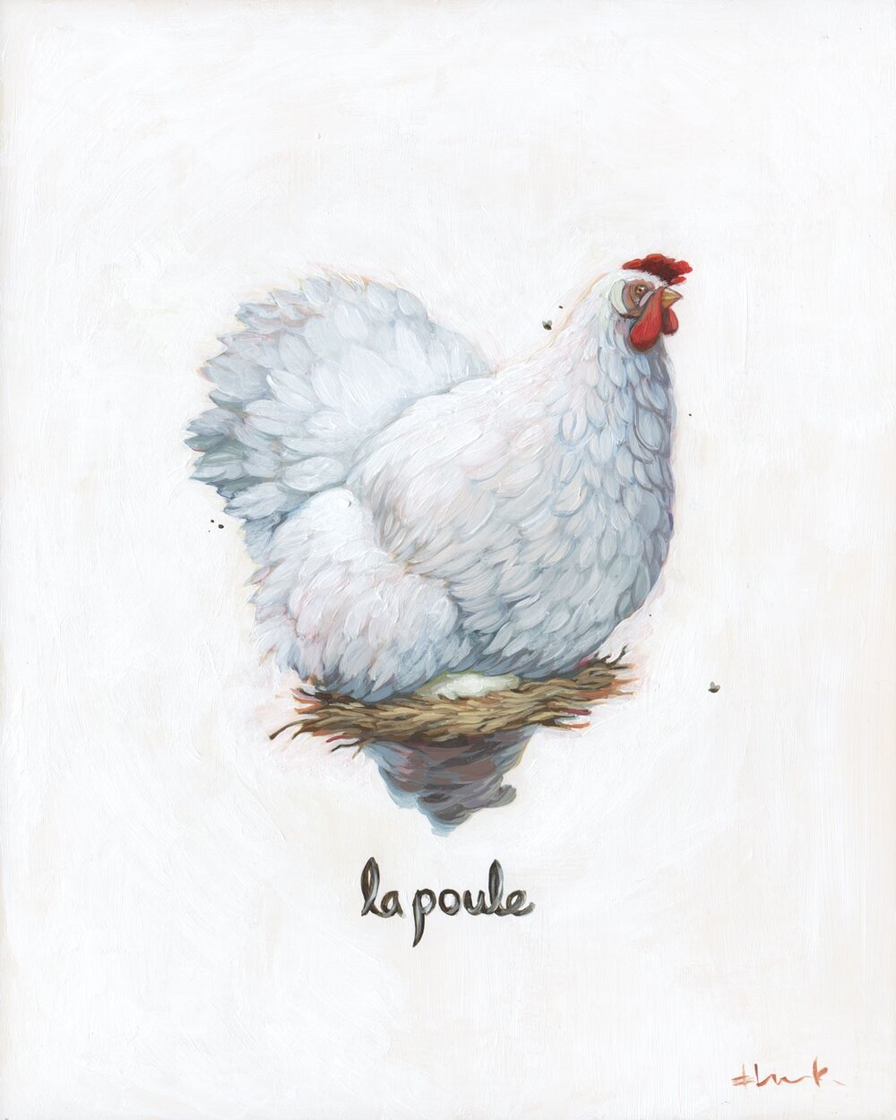 La Poule.