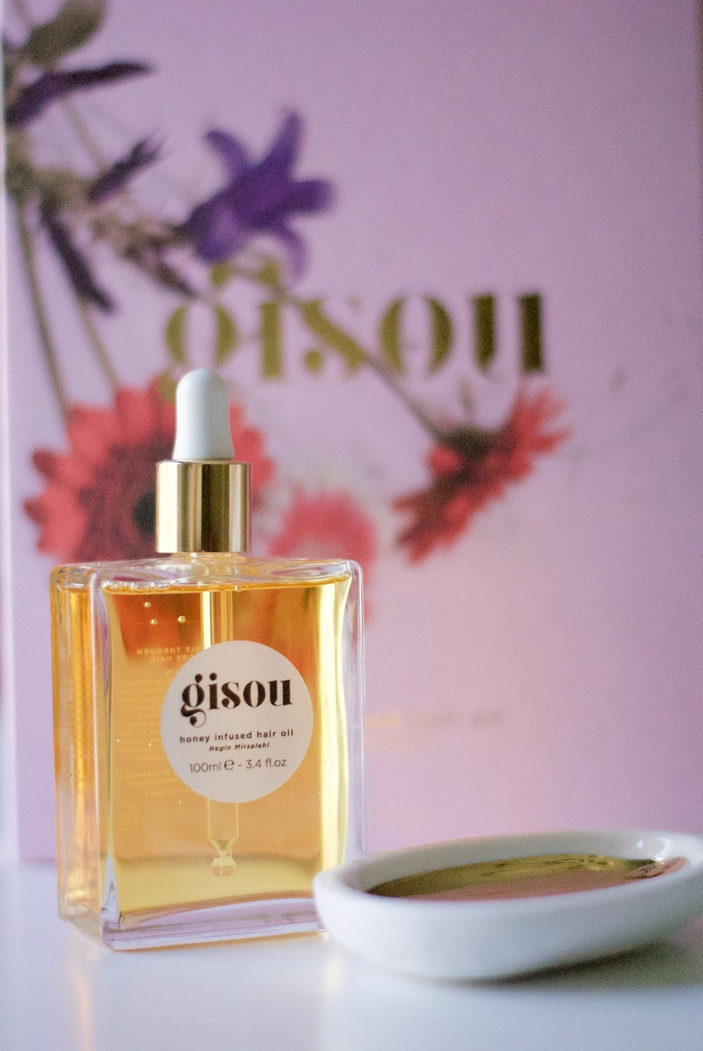 Beauty By Brittany Gisou Honey Infused Hair Oil 1