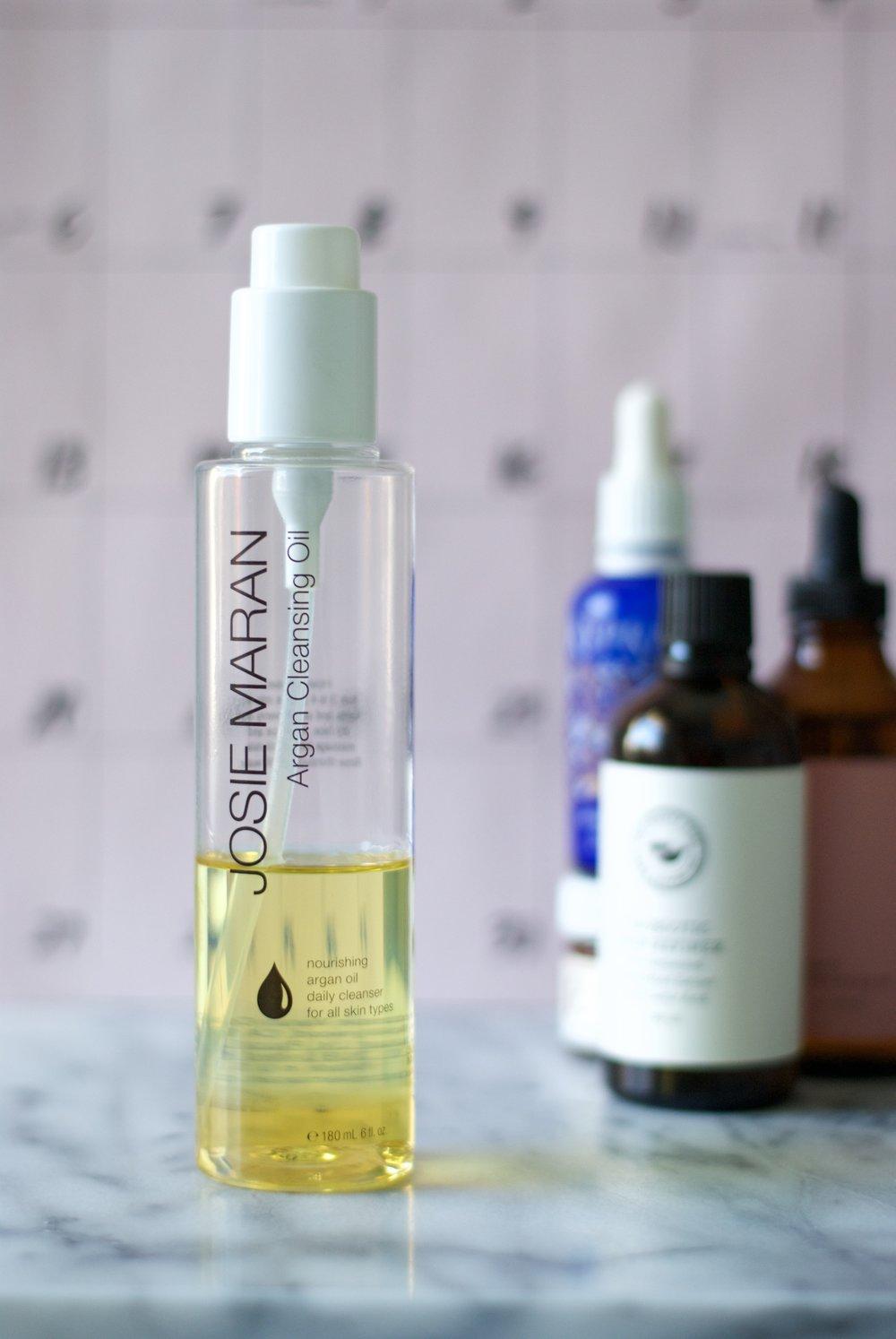 Beauty by brittany Josie Maran Argan Cleansing Oil