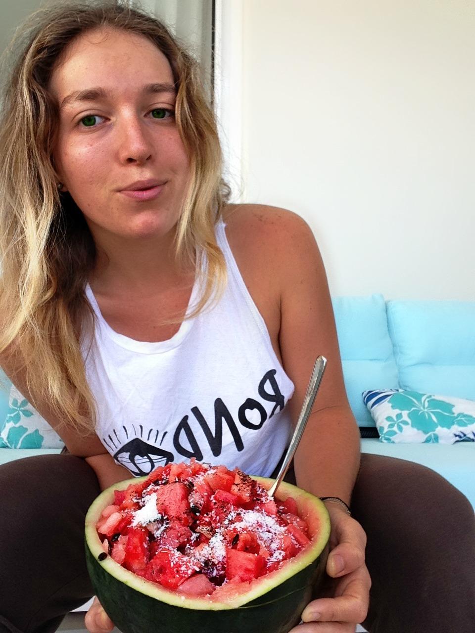 vegan bloger amelietahiti