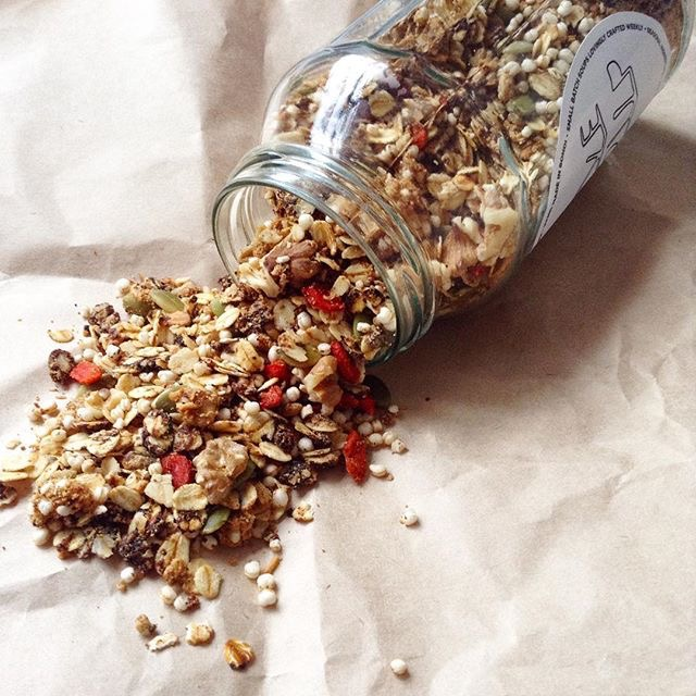 vegan granola recipe
