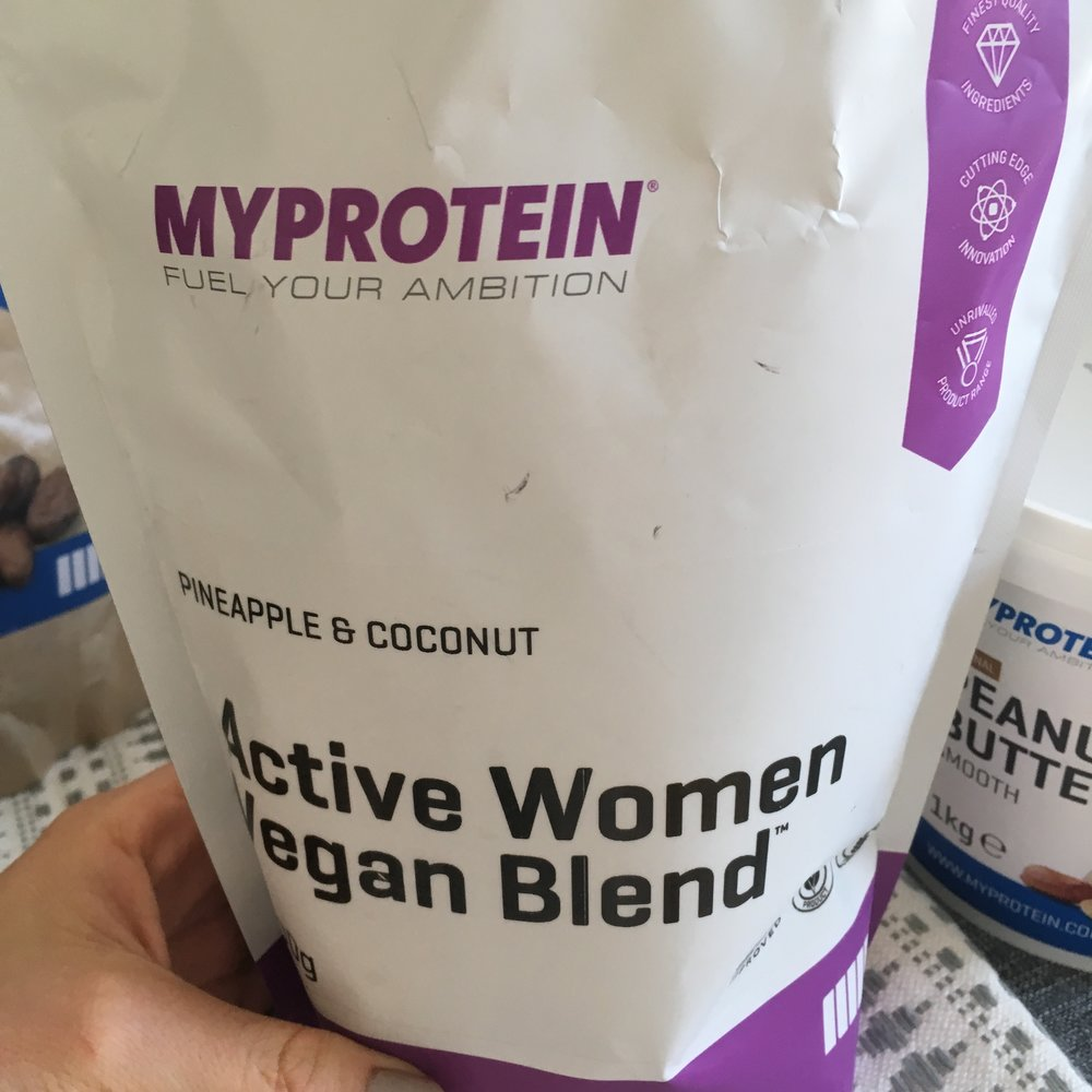 MyProtein vegan active women blend review