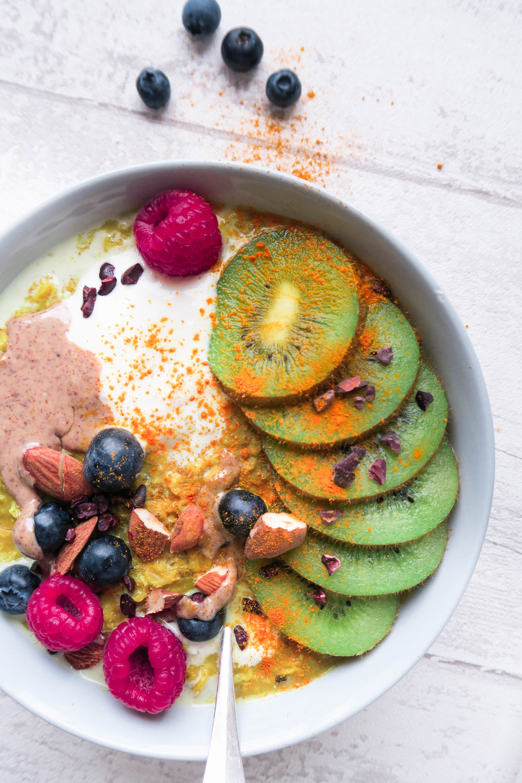 anti inflammatory vegan oatmeal