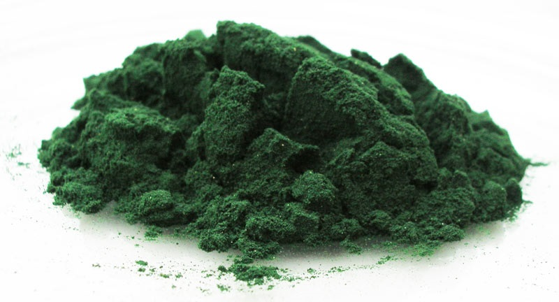 spirulina blue color