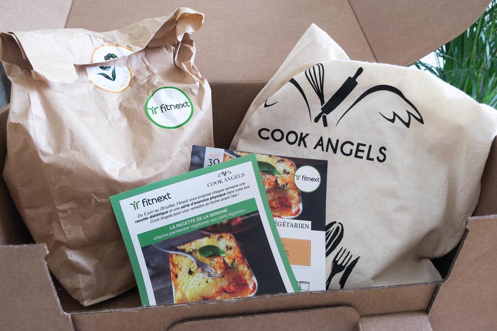 CookAngels box contenu