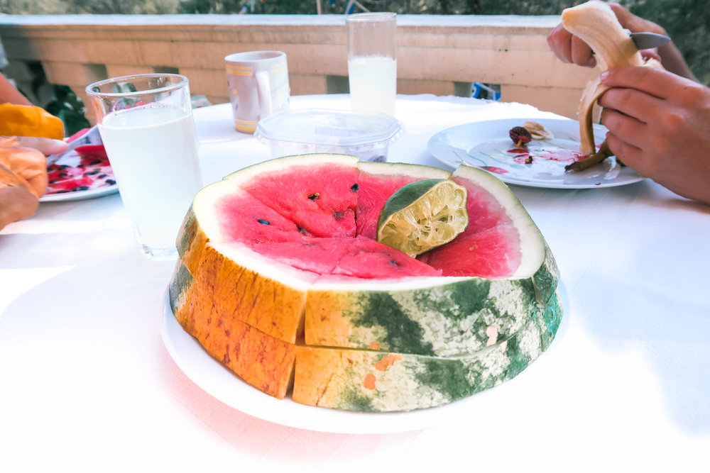 watermelon greece vegan