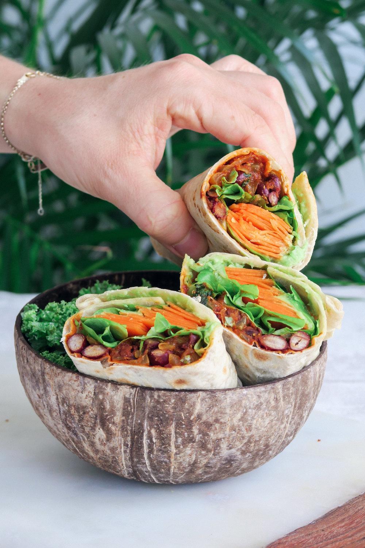 vegan spicy burrito recipe