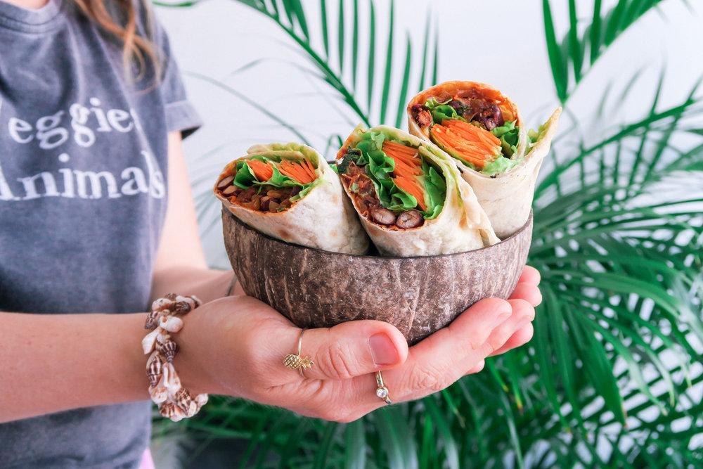 vegan burrito recette