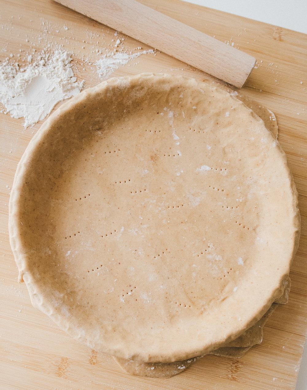 vegan tart crust recipe www.amelietahiti.com