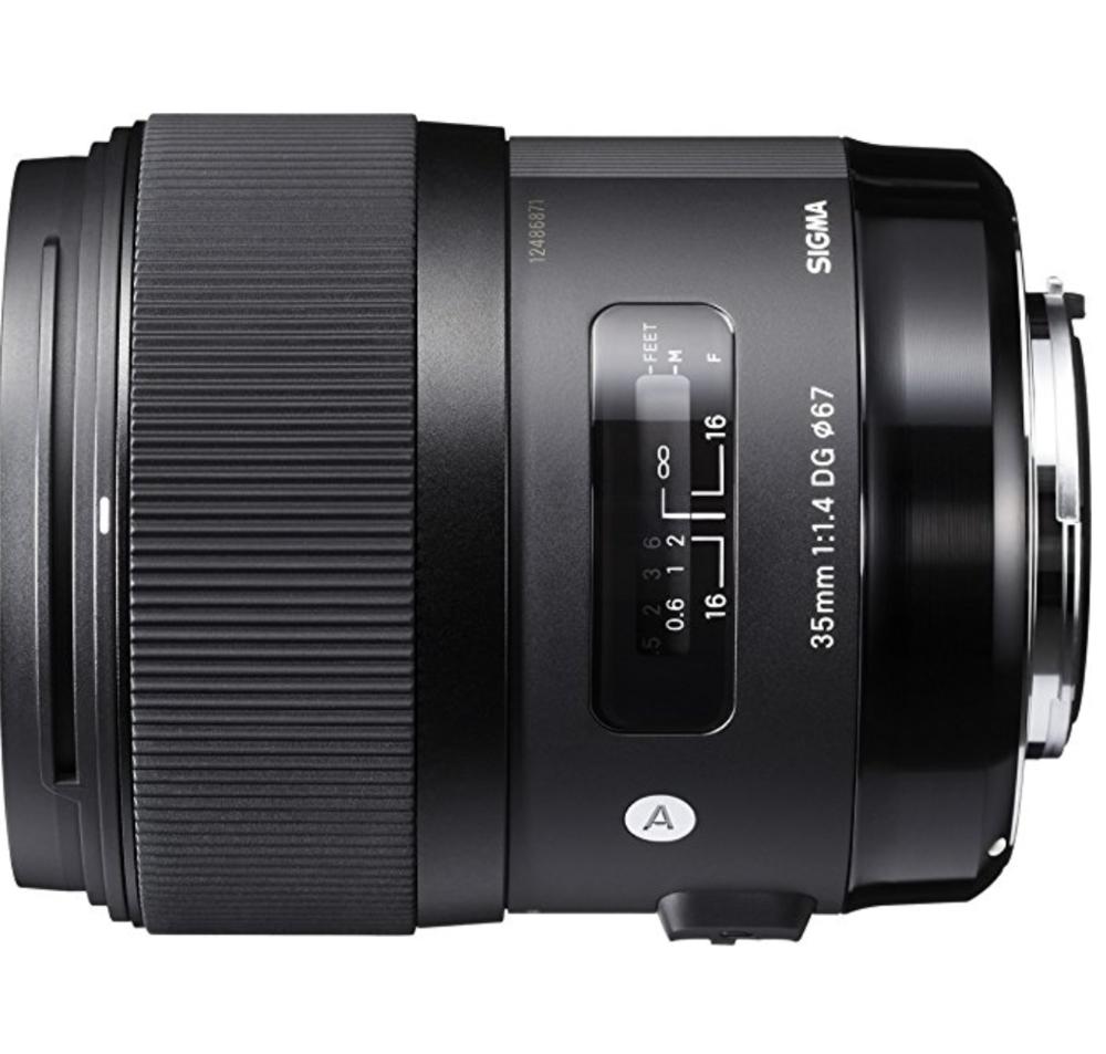 Lens numéro 1 - sigma 35mm f1.4