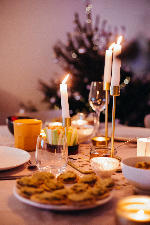 Vegan Christmas Dinner Food - www.amelietahiti.com