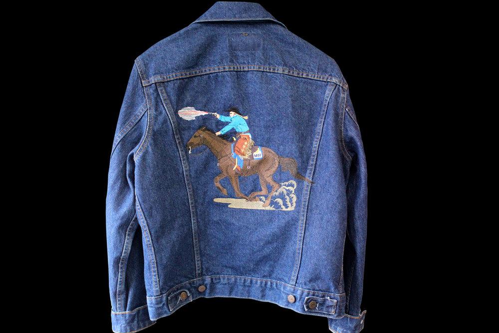 Horse Jacket Back