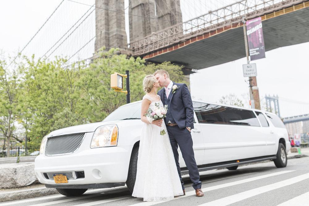Bröllopsfotografering New York.