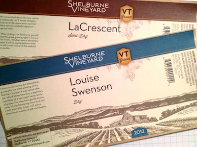 2012 Louise Swenson label