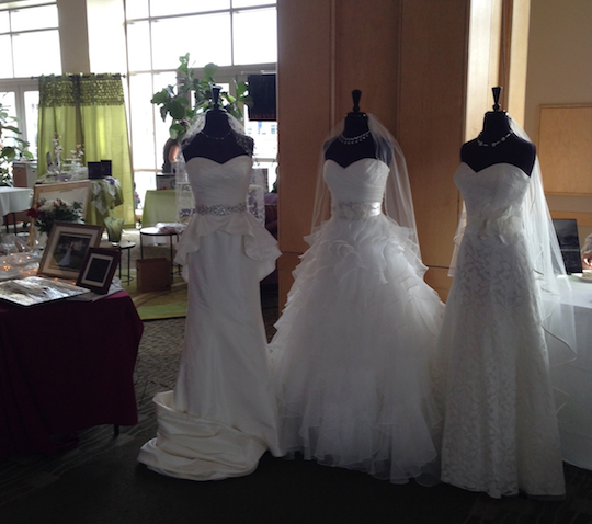 Bridal expo dresses