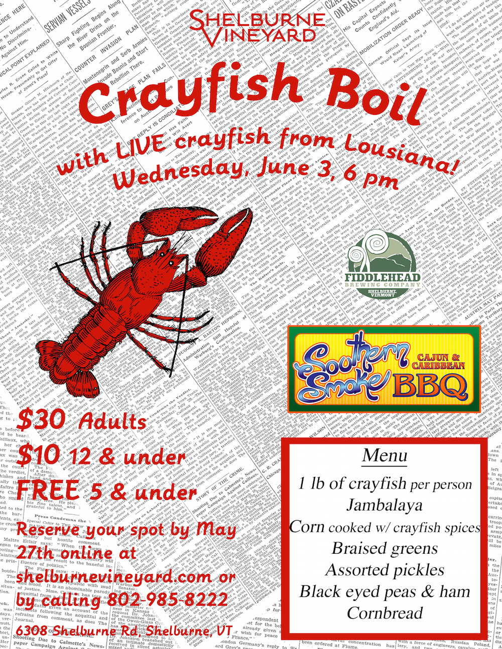 Crayfish Boil 8x10