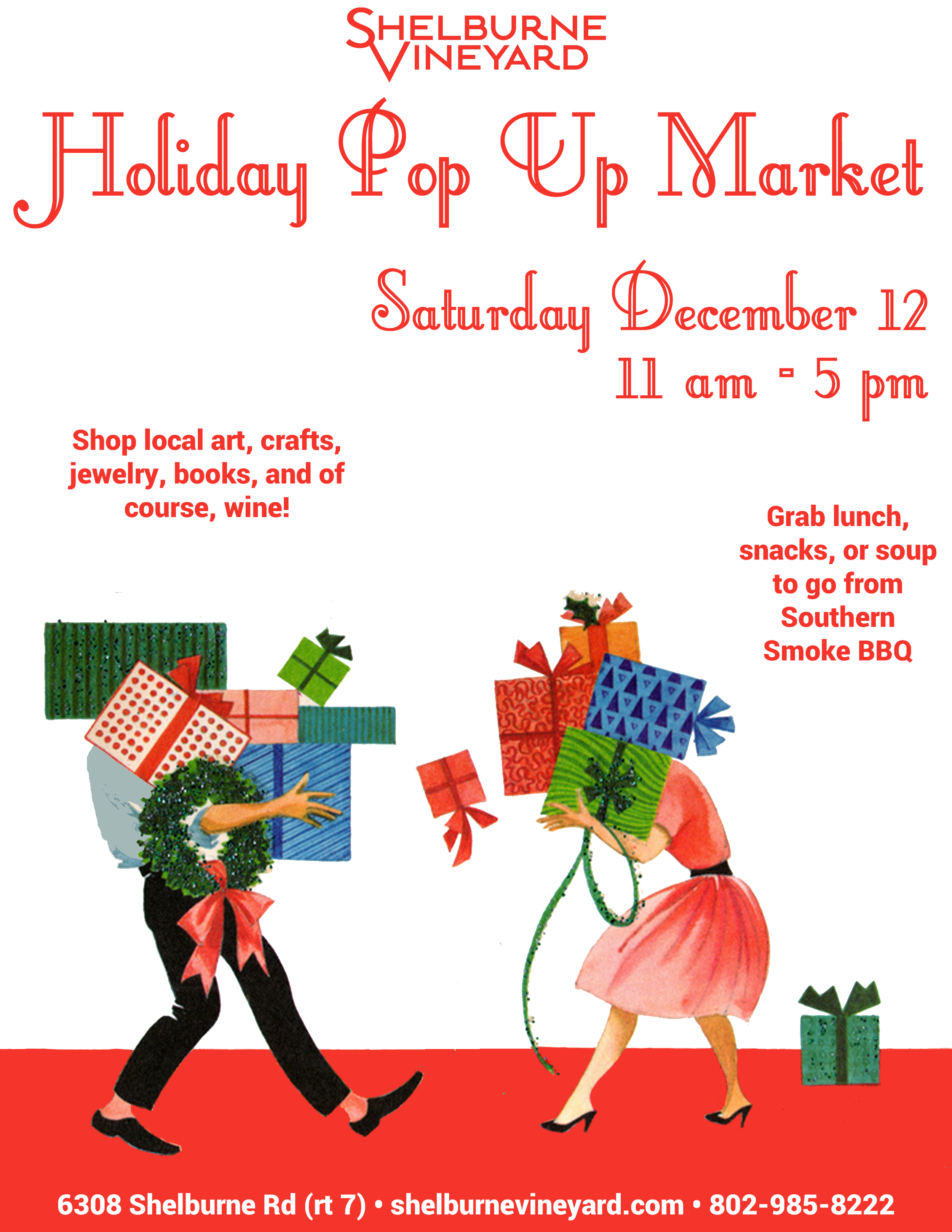 SVHoliday Pop Up Market