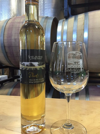 ice wine and glass