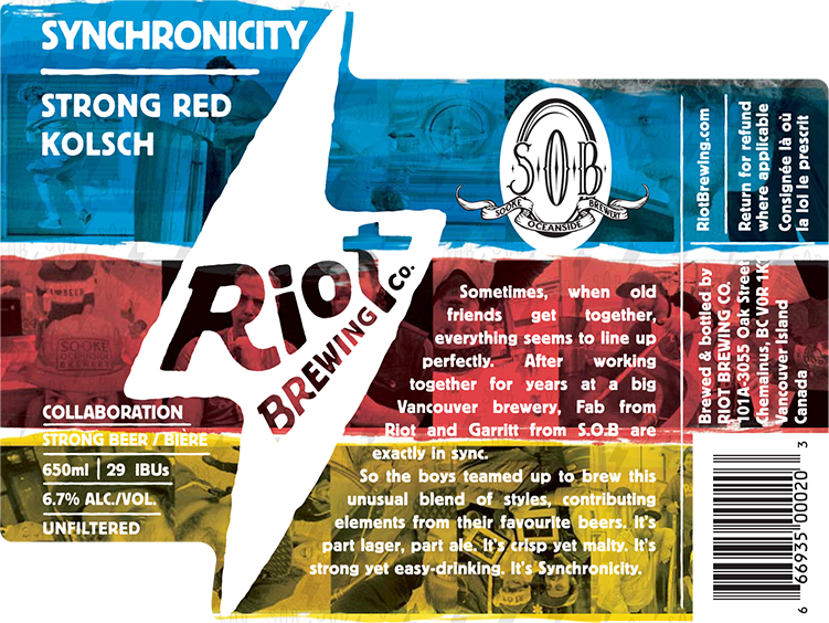 SYNCHRONICITY STRONG RED KOLSCH