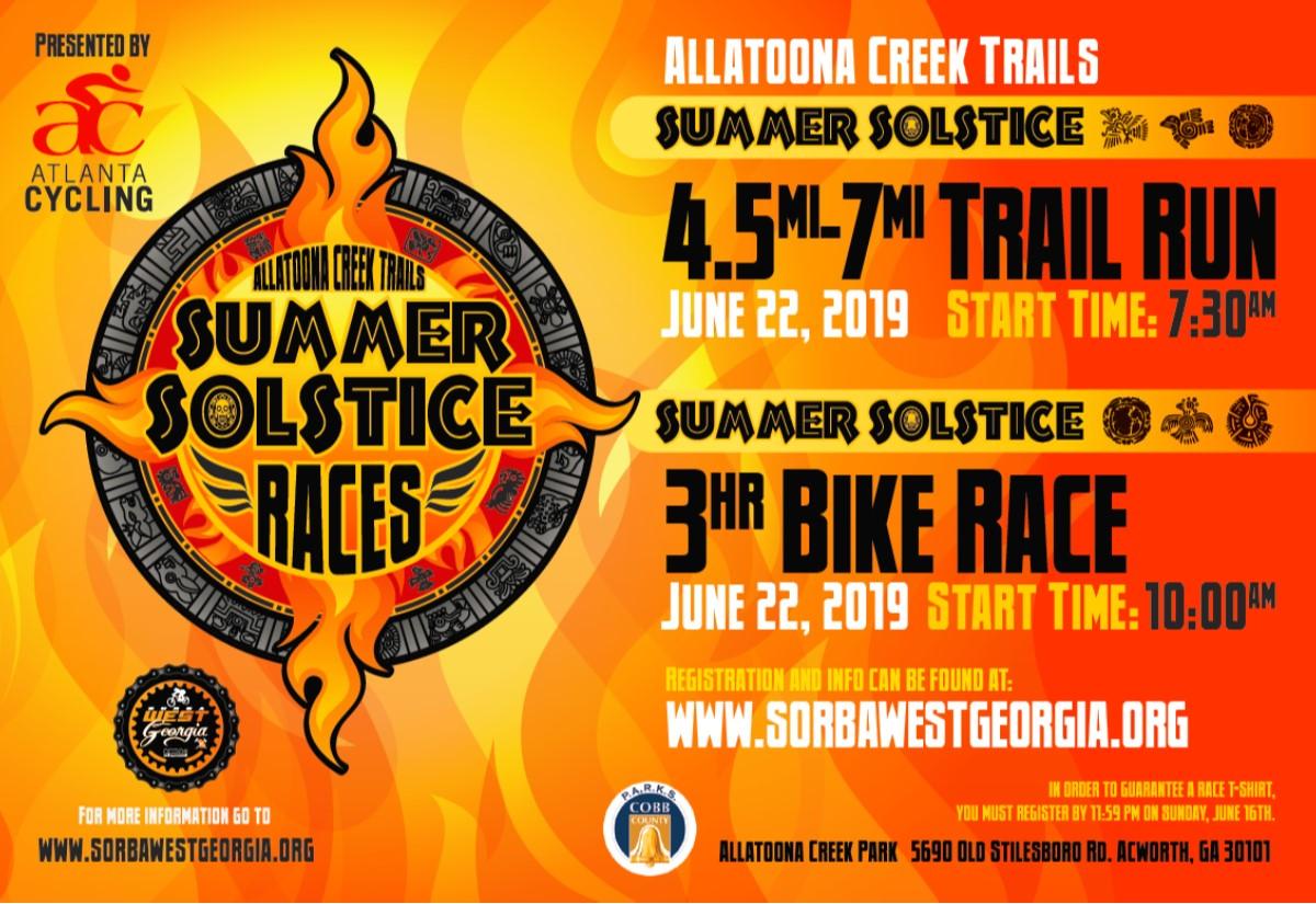 10th Annual Summer Solstice — SORBA West Georgia