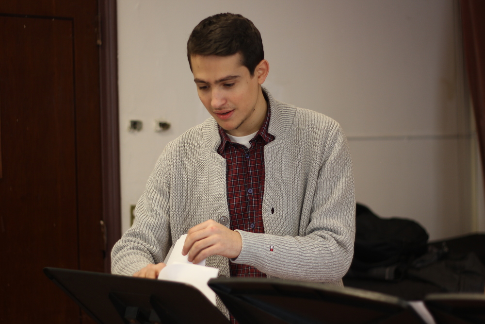 Composer Guy Mintus