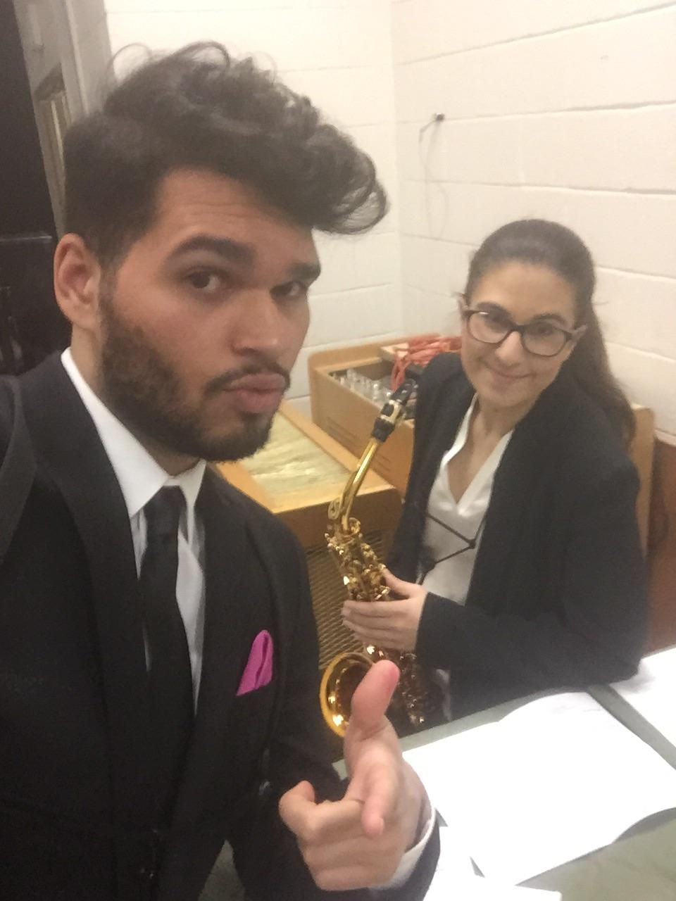 Xelana Duo at Stony Brook University