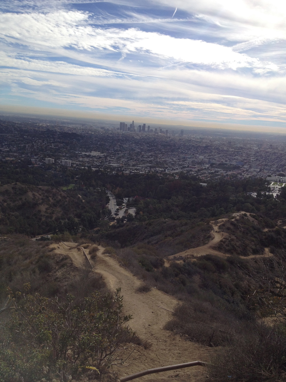 View from Griffith Park