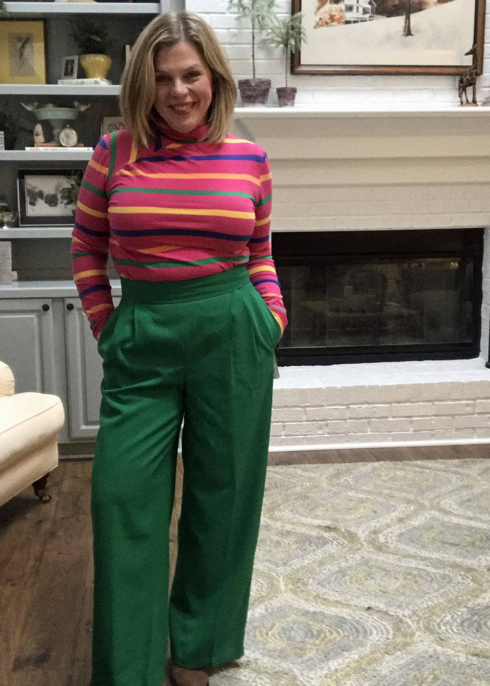 S8750 Turtleneck with SOI Camille Pants