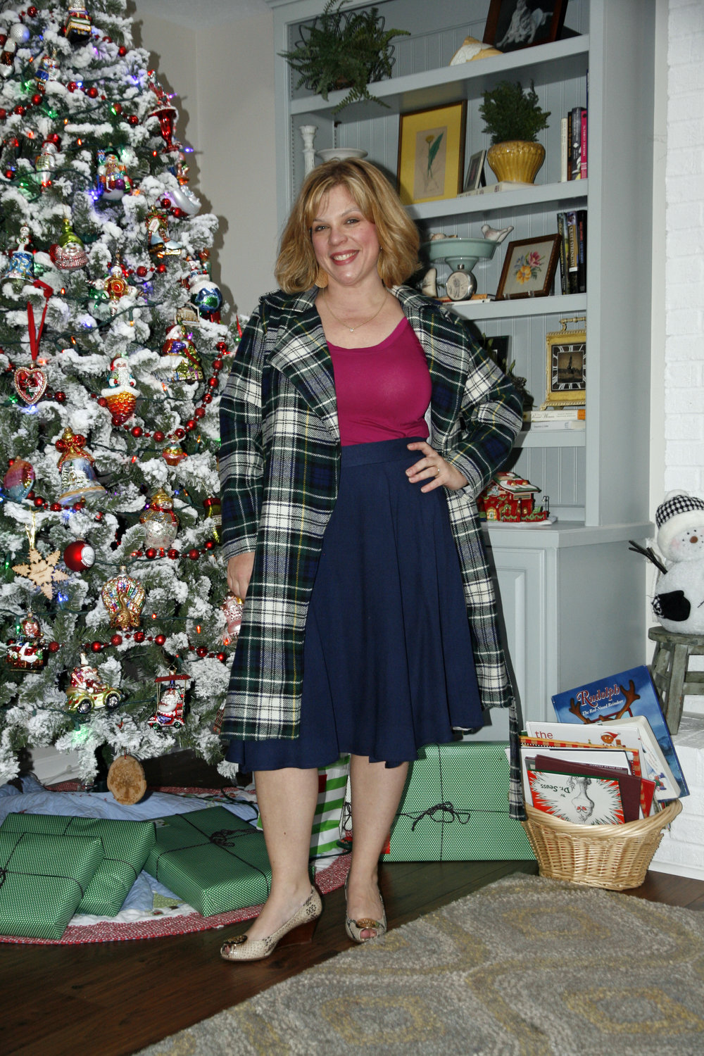Nettie Top, Kate Skirt, and Anna Coat