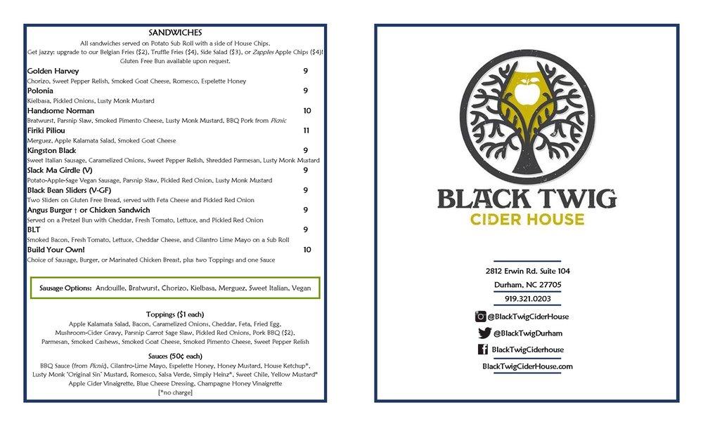 Food Black Twig