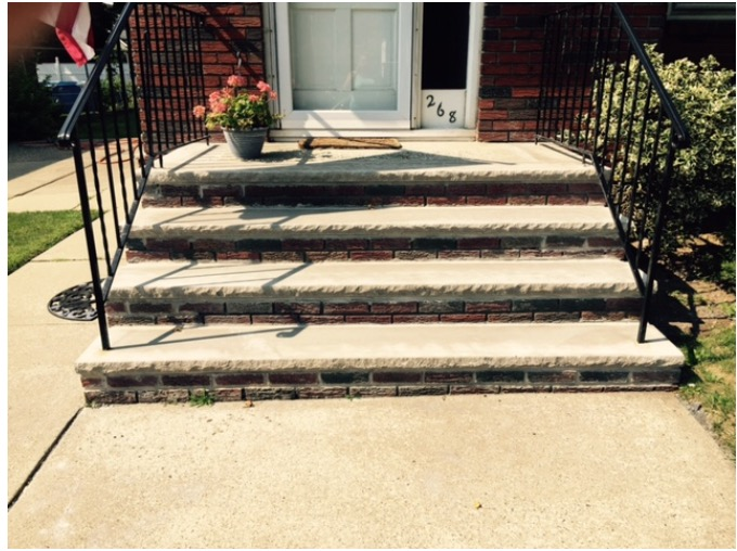 Staten Island Outdoor Stairs Remodeling