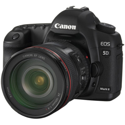 - CANON 5D mark IIFullframe camera. Good for photography.