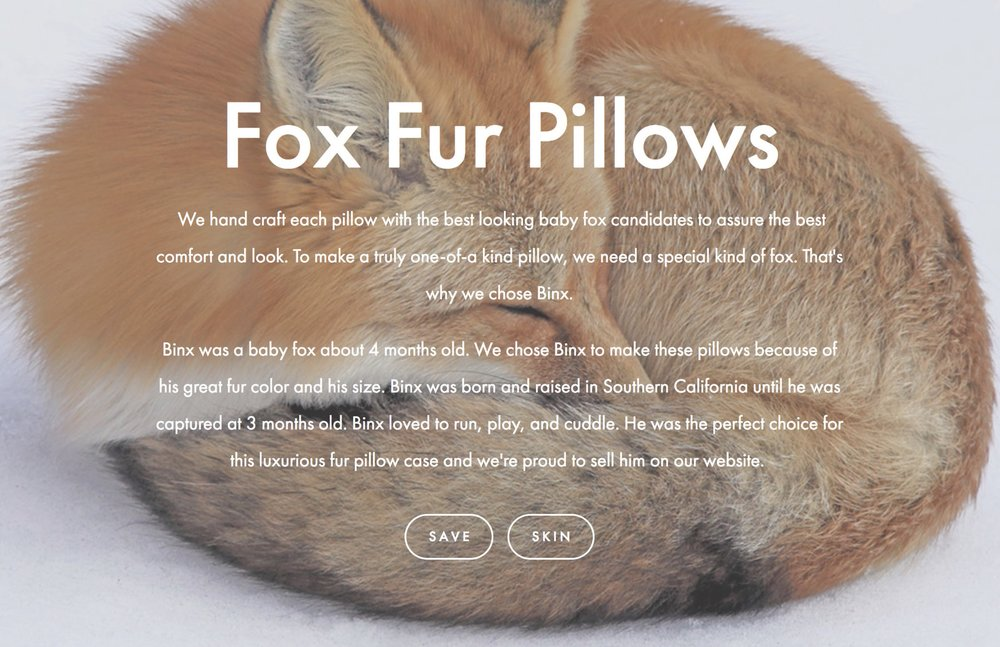 Fursourced: A fur site against animal cruelty.
