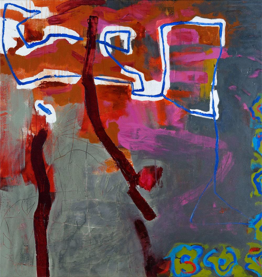 Tapisserie en rose, 2011