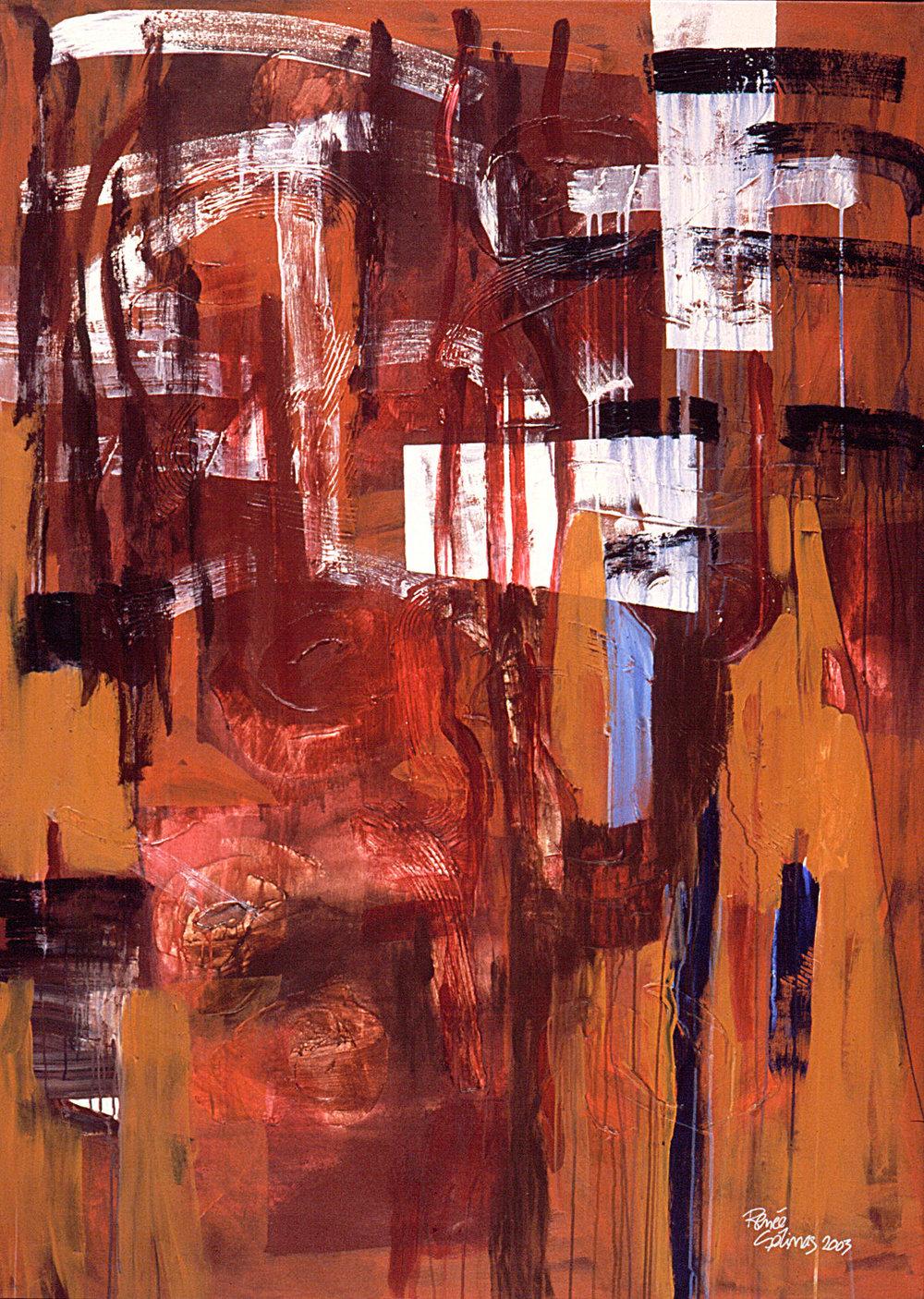 Stalactites-Vauréal, 2003