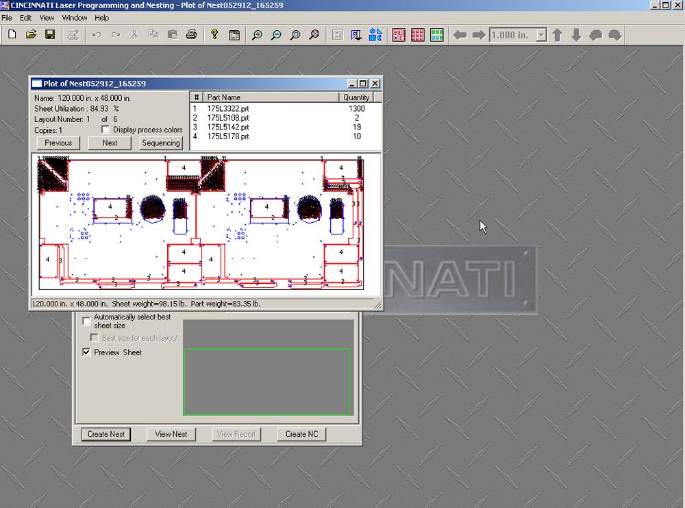 Nesting Software