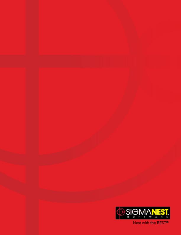 Sigmanest Corporate Brochure