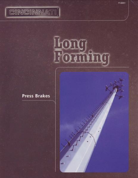 Press Brake Long Forming
