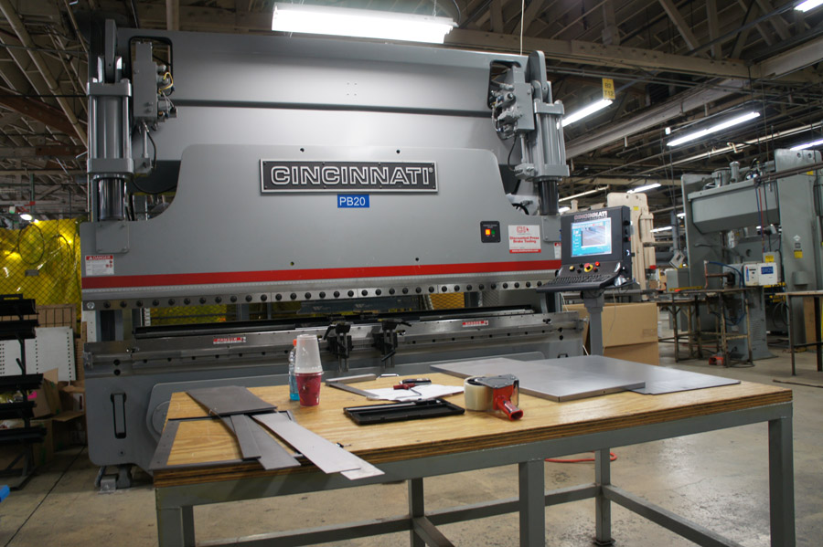 In addition to its two Cincinnati lasers, Midland Metal Products has a wide range of equipment, including 20 press brakes.