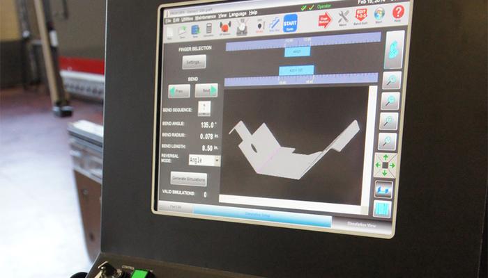 HMI Touchscreen Control