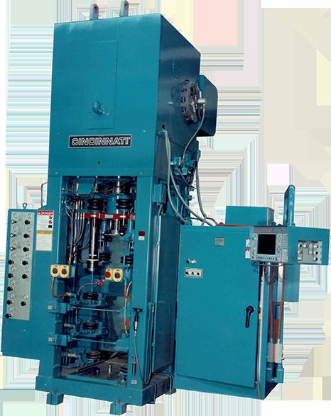 Fast Set-Up Compacting Powder Metal Press