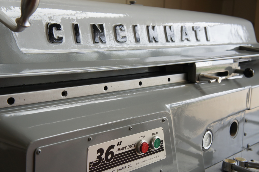 Our Beginning   Since our founding in the late 1890's as The Cincinnati Shaper Company, we built on our leadership with those early machines to begin manufacture of metal fabrication equipment in the early 1920's, and this remains our primary focus.