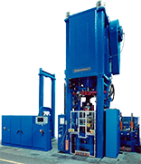 Power Die Change Compacting Powdered Metal Press